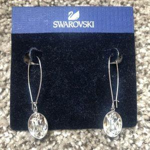 NWT drop crystal earrings